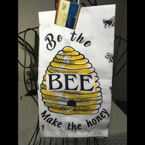 NEW - BUMBLE BEE FLOUR SACK KITCHEN TOWEL